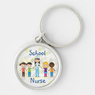 Porte-clés Porte - clé d'infirmière d'école