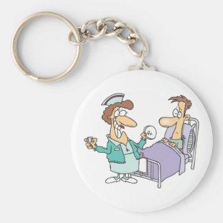 Porte-clés Porte - clé d'infirmière et de patient