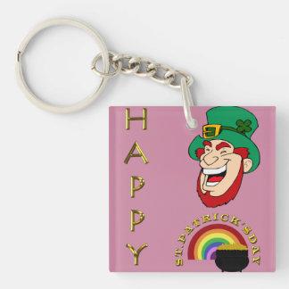 Porte-clés Porte - clé double face du jour de St Patrick