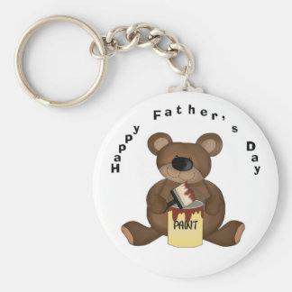 Porte-clés Porte - clé d'ours de la fête des pères