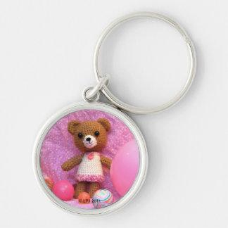 Porte-clés Porte - clé d'ours de nounours d'Amigurumi