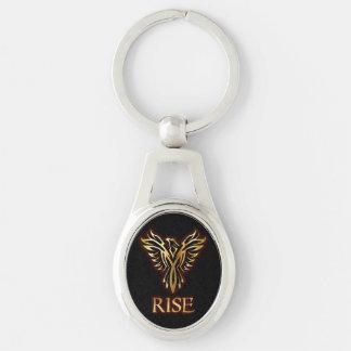 Porte-clés Porte - clé d'ovale de hausse d'oiseau de Phoenix
