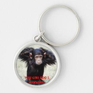 Porte-clés Porte - clé drôle de chimpanzé