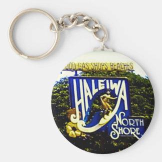 Porte-clés Porte - clé du nord d'Hawaï de rivage de Haleiwa