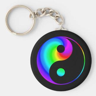 Porte-clés Porte - clé en spirale de symbole de Yin Yang