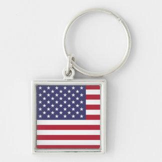 Porte-clés Porte - clé - États-Unis patriotiques
