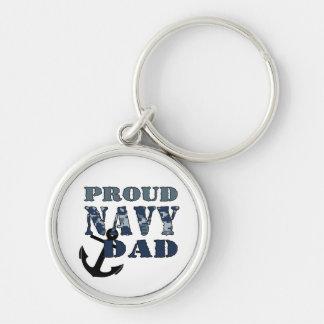 Porte-clés Porte - clé fier de papa de marine