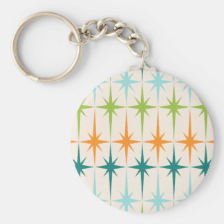 Porte-clés Porte - clé géométrique vintage de bouton de