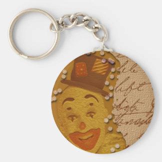 Porte-clés Porte - clé heureux de clown