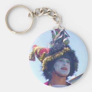 Porte-clés Porte - clé heureux de clown de Mardis Gras