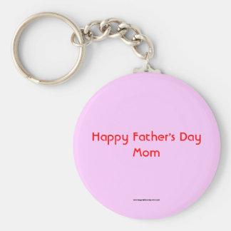 Porte-clés Porte - clé heureux de maman de fête des pères