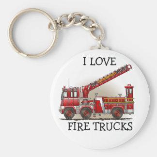 Porte-clés Porte - clé ILFT de camion de pompiers de crochet