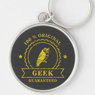 Porte-clés Porte - clé jaune de hibou