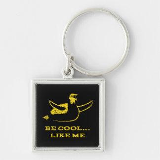 Porte-clés Porte - clé jaune de pingouin