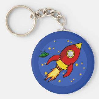 Porte-clés Porte - clé jaune rouge de Rocket
