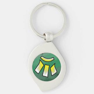 Porte-clés Porte - clé léger de spirale d'affinité