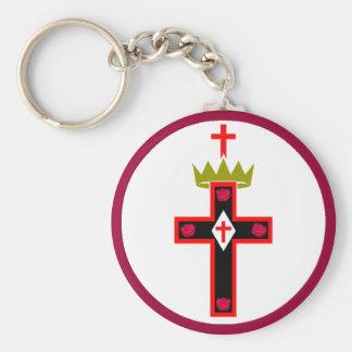 Porte-clés Porte - clé maçonnique de société de Rosicrucian