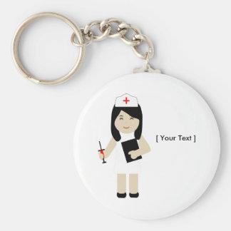 Porte-clés Porte - clé mignon de l'infirmière 2