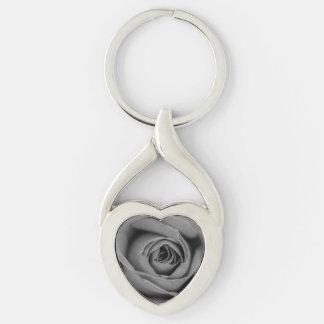 Porte-clés Porte - clé monochromatique en métal de rose