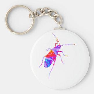 Porte-clés Porte - clé multicolore d'insecte de feuille
