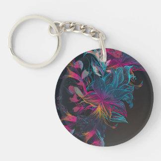 Porte-clés Porte - clé multicolore élégant de conception