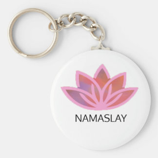 Porte-clés Porte - clé multicolore rose de Namaslay Lotus