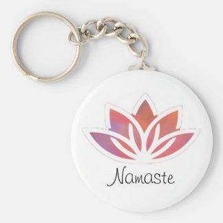 Porte-clés Porte - clé multicolore rose de Namaste