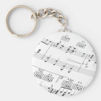 Porte-clés Porte - clé musical