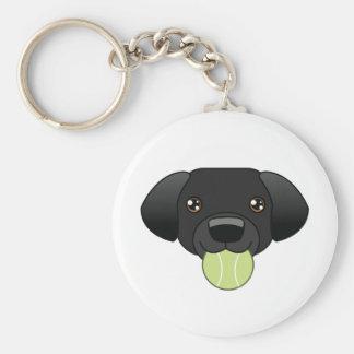 Porte-clés Porte - clé noir de laboratoire