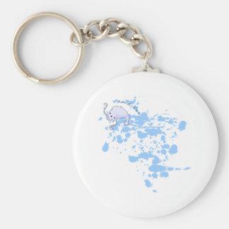 Porte-clés Porte - clé noir d'encre de Calmar-kun's
