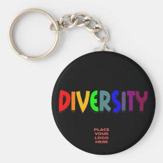 Porte-clés Porte - clé noir fait sur commande de diversité