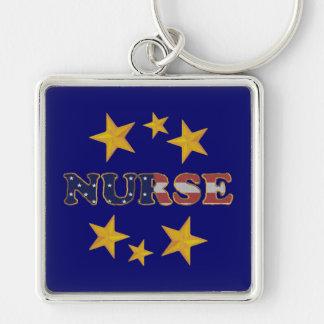 Porte-clés Porte - clé patriotique d'infirmière