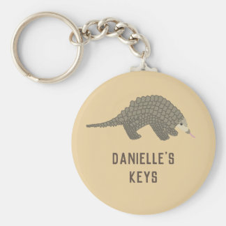 Porte-clés Porte - clé personnalisé de Pangolin