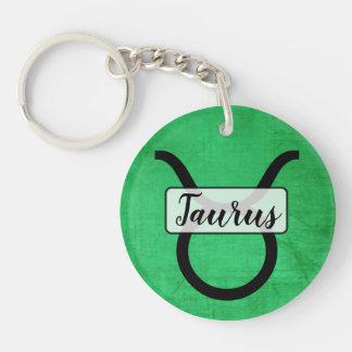 Porte-clés Porte - clé personnalisé de Taureau d'horoscope