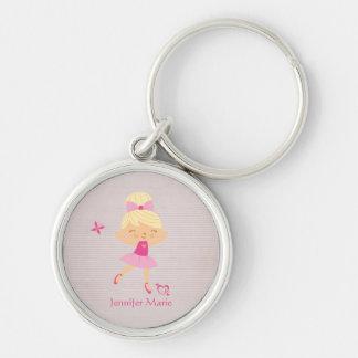 Porte-clés Porte - clé personnalisé mignon de ballerine de