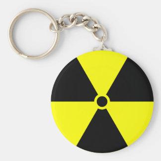 Porte-clés Porte - clé radioactif de symbole