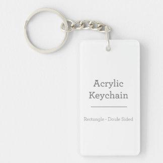Porte-clés Porte - clé rectangulaire personnalisé