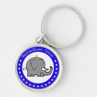 Porte-clés porte - clé républicain de poussin