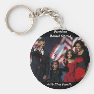Porte-clés Porte - clé rond de souvenir d'Obama