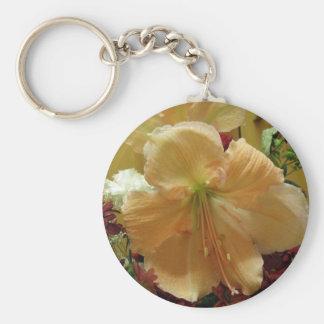 Porte-clés Porte - clé rose de bouquet de lis