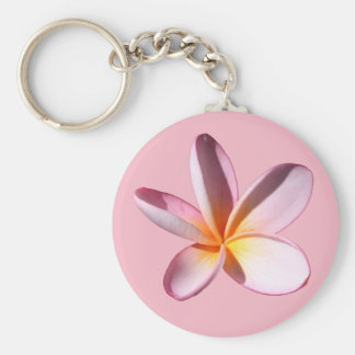 Porte-clés Porte - clé rose de Frangipani (Plumaria)