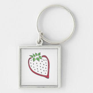 Porte-clés Porte - clé rouge de fraise