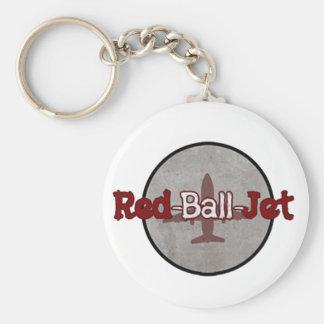 Porte-clés Porte - clé rouge de jet de boule