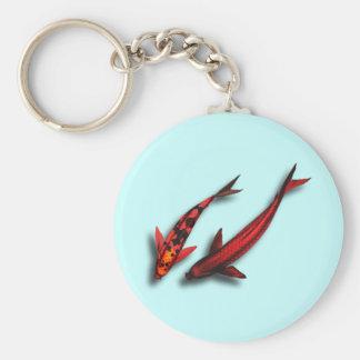 Porte-clés Porte - clé rouge de poissons de Koi