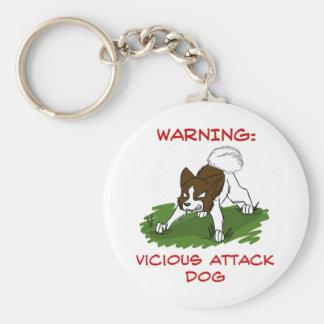 Porte-clés Porte - clé saki chamois de chien d'attaque