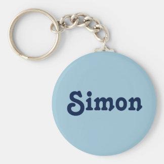 Porte-clés Porte - clé Simon