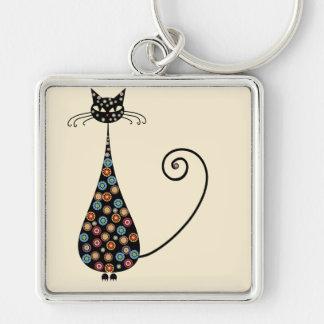 Porte-clés Porte - clé simple génial de chat noir