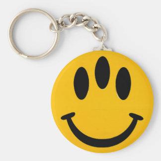Porte-clés Porte - clé souriant Trois-Eyed