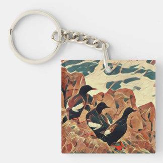 Porte-clés Porte - clé soustrait de guillemots