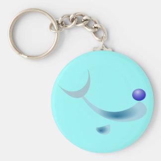 Porte-clés porte - clé stylisé de dauphin